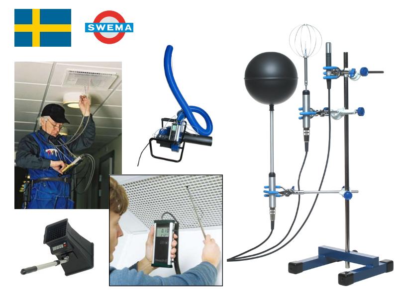 瑞典 SWEMA 氣流風速儀器系列